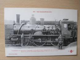 53. Les Locomotives (Est) : Locomotive De L'ancienne Compagnie Lérouville-Sedan Faisant Le Service Des Trains Legers - Trains