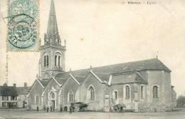 N°25510  -cpa Vibraye -église- - Vibraye