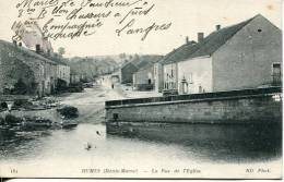 N°25514  -cpa Humes -la Rue De L'églsie- - Sonstige Gemeinden
