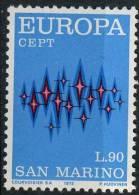 PIA - SAN  MARINO - 1972 : Europa - (SAS  849-50) - Europa-CEPT