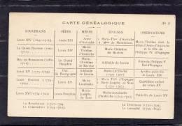 32681     Francia,    Carte  Genealogique,  NV - Genealogia