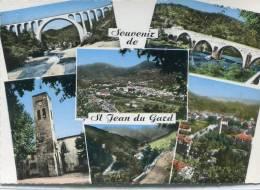 CPSM 30 SOUVENIR DE ST JEAN DU GARD 1965  Grand Format - Saint-Jean-du-Gard