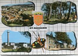 CPSM 30  ST NAZAIRE Multi Vues  Grand Format - France