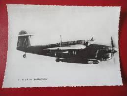 Royal Air Force  Le Barracuda - Avions