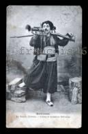 Mondrel - Le Zouave Virtuose - Scènes Et Sonneries Militaires - 1904 Tampon St Mihiel Et Chalons Sur Marne Et Autre - Personnages