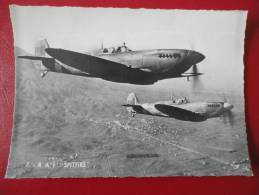 "RAF  "" Spitfire "" - Avions"