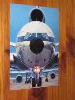Lufthansa Jet Orginal Werbekarte Der Lufthansa ** Ungebraucht Flugzeug Airline Aircraft Postkarte Postcard - 1946-....: Moderne