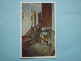 23770 PC: NORTHAMPTONSHIRE: Sulgrave Manor. The Old Staircase. - Northamptonshire