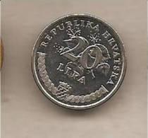 Croazia - Moneta Circolata Da 20 Lipa - 1995 - Croazia