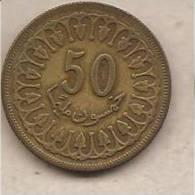 Tunisia - Moneta Circolata Da 50 Millim - 1983 - Tunisia