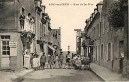 LUC SUR MER (14) Rue De La Mer Commerce Belle Animation - Luc Sur Mer