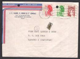 FRANCE Postal History Cover 31-1-1984 - Storia Postale