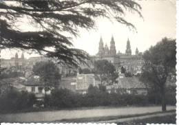 Espagne - España -  Santiago De Compostela - Vista Artistica Desde La Herradura - Santiago De Compostela