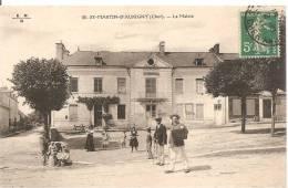 18 SAINT MARTIN D´AUXIGNY  LA MAIRIE  ANIMEE - France