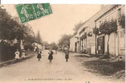 18 SAINT MARTIN D'AUXIGNY LA ROSE  MAGASINS  ANIMEE - France
