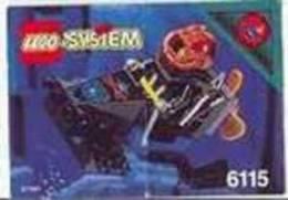 Plan Lego System 6115 Aquazone De 1995 - Plans