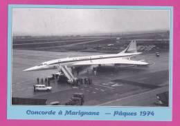 Concorde à Marignane Pâques 1974 - 1946-....: Moderne