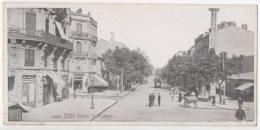 CETTE - SETE - Avenue Victor Hugo - CPA Petit Format - Sete (Cette)