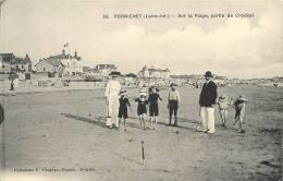 44 LE POULIGUEN SUR LA PLAGE PARTIE DE CROQUET OU CROCKET - Le Pouliguen