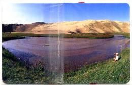 150u Lake Lac Recto Gris Avec Puce GEM6 NEUVE MINT NSB - Mongolia