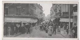 CETTE - SETE - Rue De L'Esplanade  - CPA Petit Format - Sete (Cette)
