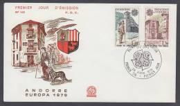 CEPT Europa - FDC 1979 - Andorra (France) - MiNr. 297-298 - 1979