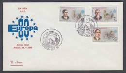 CEPT Europa - FDC 1980 - Türkei Turkey - MiNr. 2510-2512 - 1980
