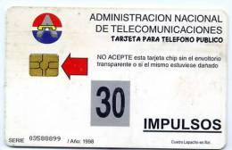 30imp 1998 National Tree - Paraguay
