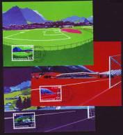 Liechtenstein 1982 - Fußball Football - MK (3) - Fußball-Weltmeisterschaft