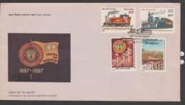 INDIA, FDC. ,BOMBAY 28 /3/ 1987,Cover(243). - Storia Postale