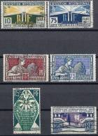 """FR YT 210 à 215 """" Expo Internationale Arts Décoratifs """" 1924-25 Oblitéré - France"""