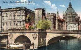 CPA....BERLIN....XURFURST ENBRUCCKE SCHLOSS DOM   ...PRIX : 1,49 € - Allemagne