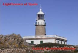 Lighouses Of Spain - Galicia/Corrubedo-Ribeiro Postcard Collector - Faros