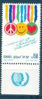 Israel - 1985, Michel/Philex No. : 1011, - MNH - *** - - Ongebruikt (met Tabs)