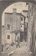 LAGI DI LUGANO  GANDRIA  UN VICOLO - TI Ticino