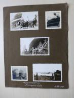 BATEAU Lancement Du François L.D. (Louis Dreyfus) Mai 1938, Lot De 5 Photos RARE - Boats