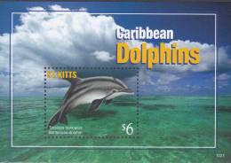 St. Kitts 2011 Postfris MNH Dolphin - St.Kitts En Nevis ( 1983-...)