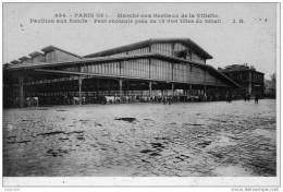Carte PARIS MARCHE AUX BESTIAUX DE LA VILLETTE - Distrito: 19