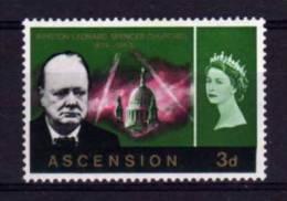 Ascension Island - 1966 - 3d Churchill Commemoration - MH - Ascension (Ile De L')