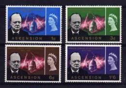 Ascension - 1966 - Churchill Commemoration - MH - Ascension (Ile De L')