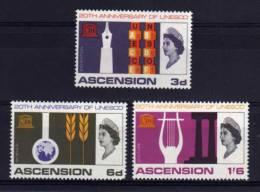 Ascension - 1967 - 20th Anniversary Of UNESCO - MH - Ascension (Ile De L')