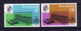 Ascension Island - 1966 - Inauguration Of New WHO Headquarters - MH - Ascension (Ile De L')