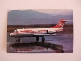 Postcard/Postal Aeroperu Fokker F-28-1000 - 1946-....: Moderne