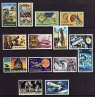 Ascension Island - 1971 - Evolution Of Space Travel - MH - Ascension (Ile De L')
