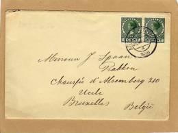 Enveloppe Brief Cover Arnhem To Uccle Bruxelles Belgie - 1891-1948 (Wilhelmine)