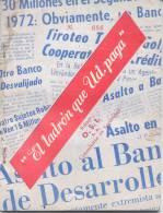 EL LADRON QUE USTED PAGA EDITOR O.S.I. CONSULTORIA EN SEGURIDAD 84 PAGINAS RARO LIBRO DE SEGURIDAD AÑO 1872 ARGENTINA