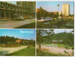 EUROPE BOSNIA BANOVIĆI 4 FOTOS Nr. 120 OLD POSTCARD 1983. - Bosnia And Herzegovina