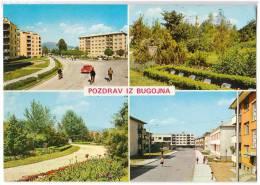EUROPE BOSNIA BUGOJNO 4 FOTOS Nr. 1348 OLD POSTCARD 1974. - Bosnia And Herzegovina