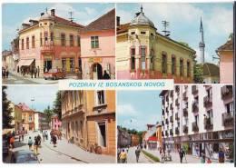 EUROPE BOSNIA BOSANSKI NOVI 4 FOTOS Nr. 1529 OLD POSTCARD - Bosnia And Herzegovina