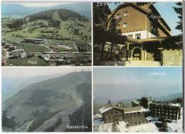 EUROPE BOSNIA BJELAŠNICA, PALE, IGMAN AND JAHORINA OLD POSTCARD 1987. - Bosnia And Herzegovina